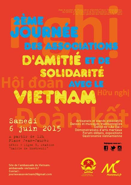 deuxieme journee des associations d amitie et de solidarite avec le vietnam