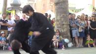 4 applications de self-défense mises en scène du style Thái Cực Đường Lang (Tai Chi Tang Lang, Kung-Fu de la mante religieuse utilisant les principes du Tai Chi Chuan) exécutées […]